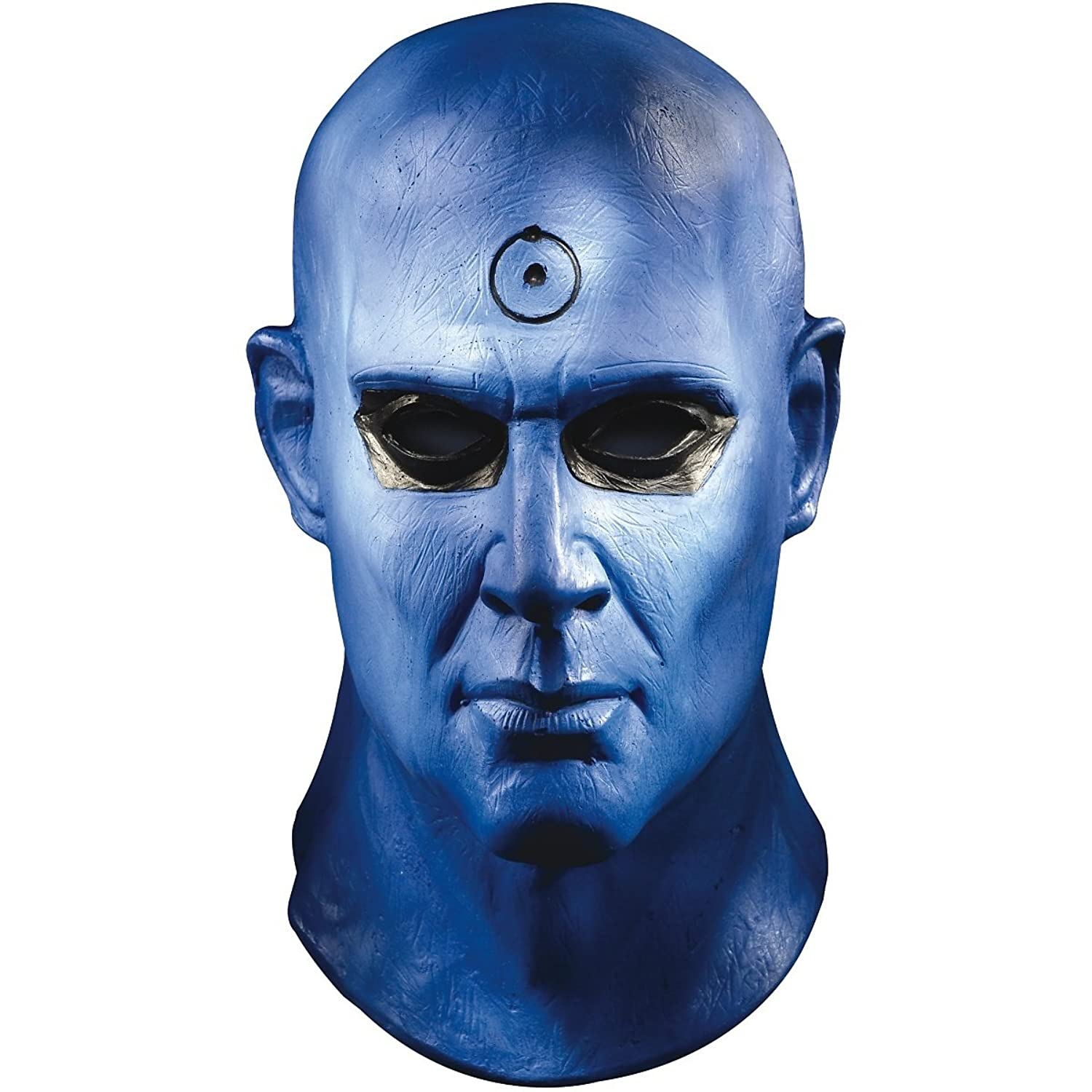 amazoncom dr manhattan deluxe mask costume accessory clothing