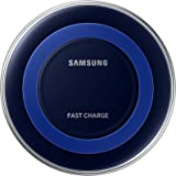 Samsung Qi Certified Fast Charge Wireless Charger (Universally compatible with all Qi enabled phones) - Special Edition  – Black/Blue (Certified Refurbished)