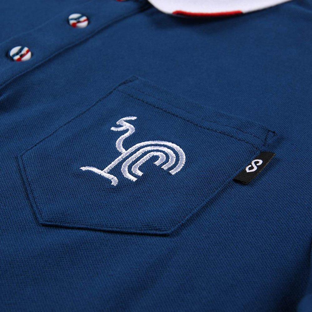d10fadfa122 Amazon.com: Cg ORKY Men Support Polo Shirt France Soccer National Color:  Sports & Outdoors