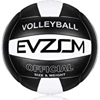 EVZOM Super Soft Volleyball Beach Volleyball Official Size 5 for Outdoor/Indoor/Pool/Gym/Training Premium Volleyball…