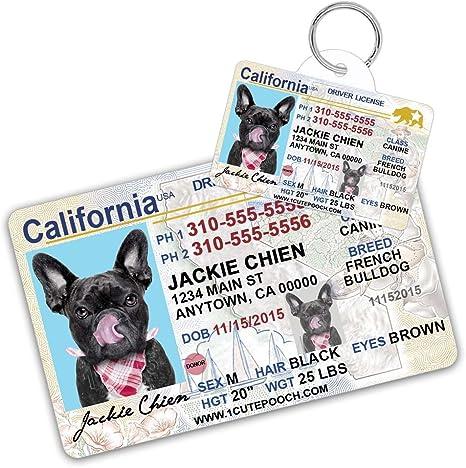 Amazon.com: California Licencia de conducir Custom ...