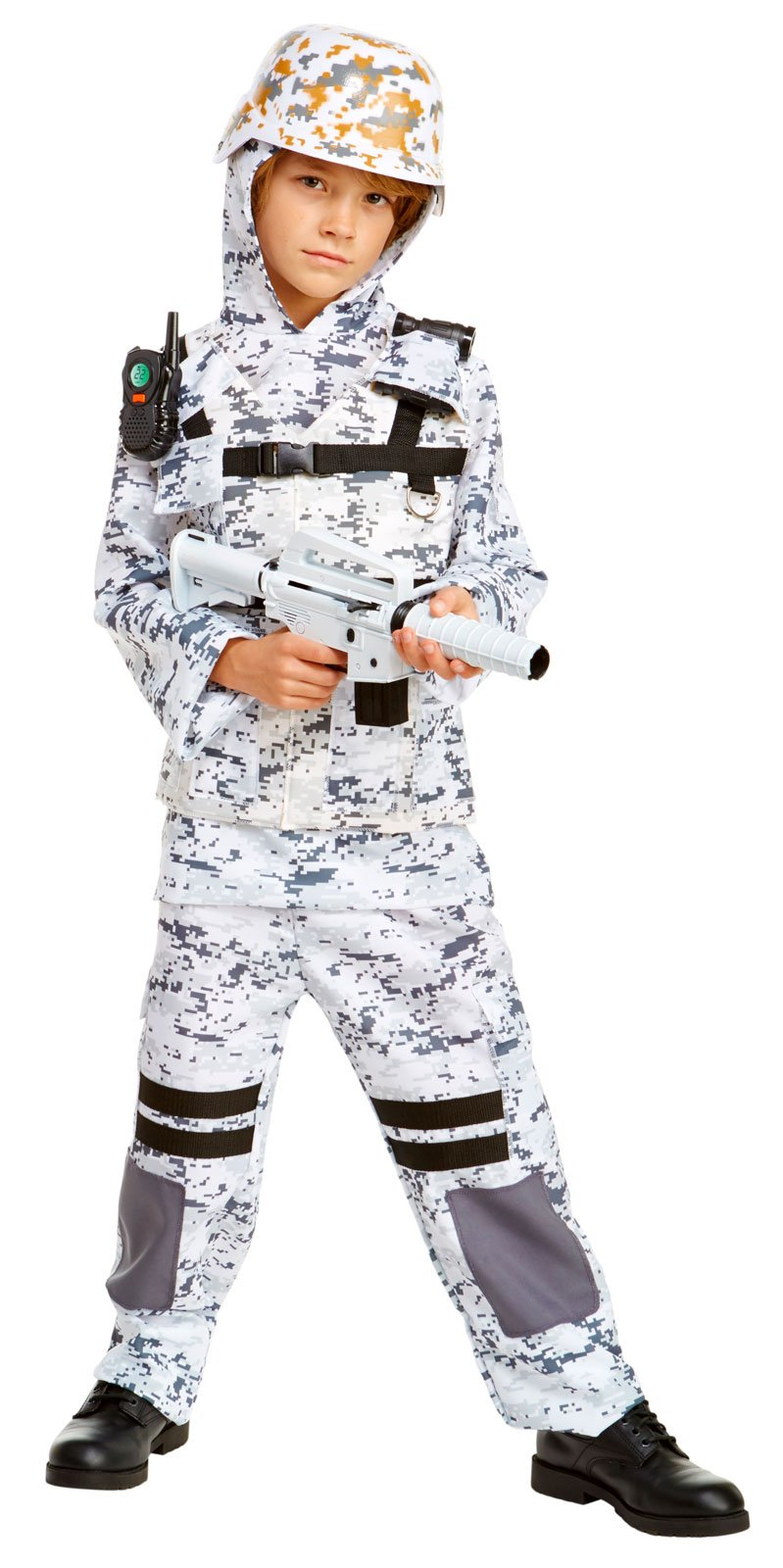Winter Camo Stealth Soldier Child Costume by Palamon