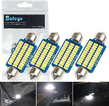 OSRAM LEDriving LED Retrofit C5W per illuminazione interna  6498CW-01B Cool White 6000K 80/% minor consumo di energia Blister singolo