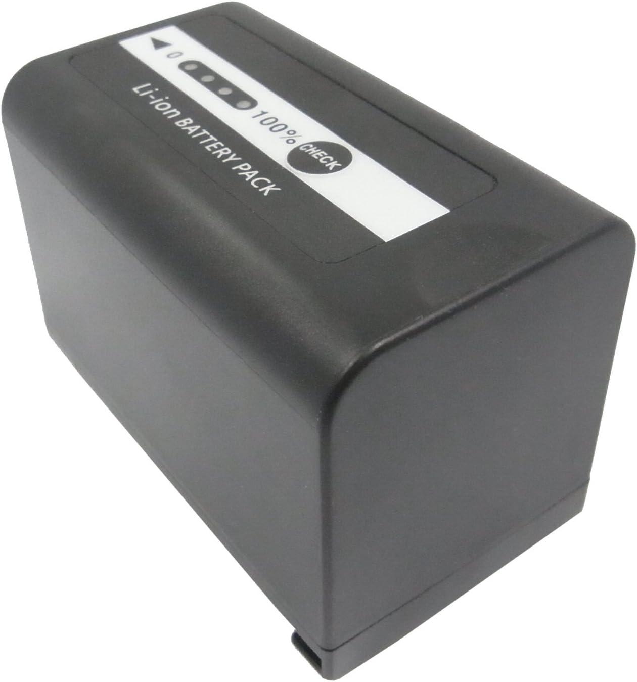 4400mAh Replacement for Panasonic AJ-PX270 VW-VBD58E-K AJ-PX298 AJ-PX298MC Battery P//N VW-VBD29 VW-VBD58