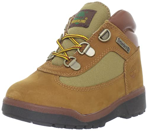 Amazon.com   Timberland Field Lace-Up Boot (Toddler Little Kid Big ... 80f59656138