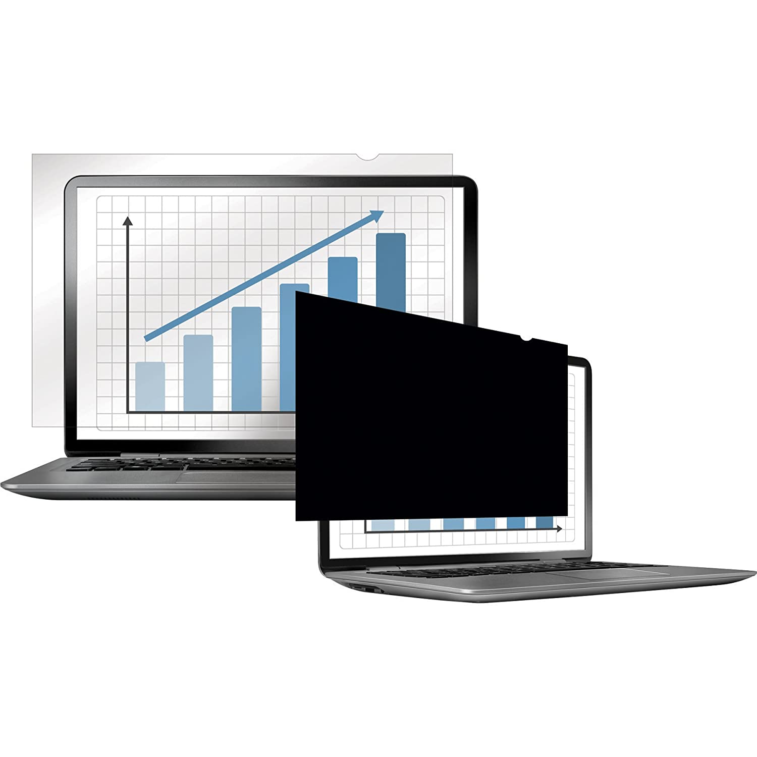 4807001 Fellowes PrivaScreen Privacy Filter for 21.5 Inch Widescreen Monitors 16:9