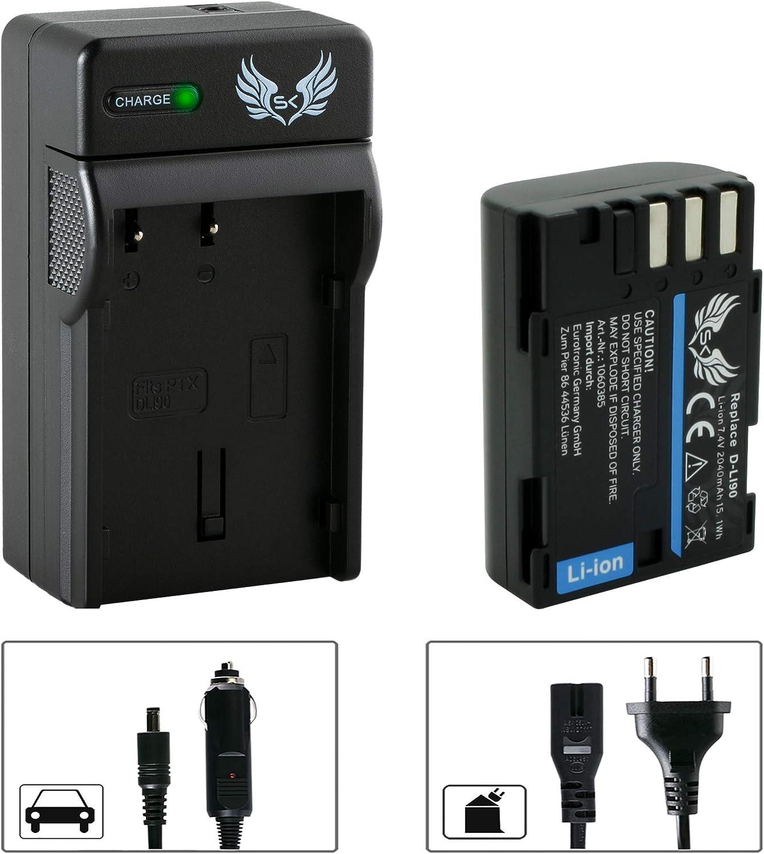 Blumax Li-ion Battery D-LI90 PENTAX 7.4V 1700mAh D-Li90 K5 K-5 K-7
