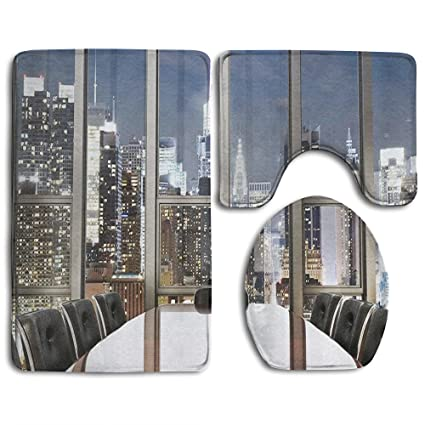Amazoncom Guiping Business Office Conference Room Table Chairs - Conference room table mats