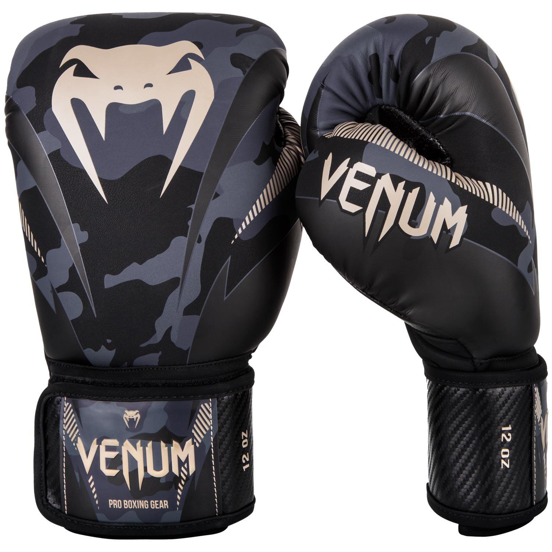 VENUM ボクシンググローブ Impact - インパクト(ダークカモ/サンド)/ Boxing Gloves  10oz