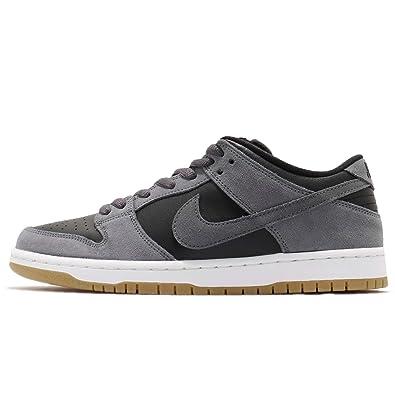 huge selection of 018cd e79a3 NIKE Boys Sb Dunk Low TRD Skateboarding Shoes, Multicolour Dark Grey Black  White