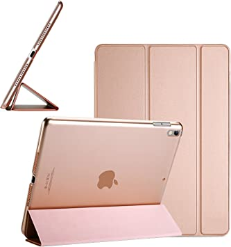Amazon Com Black Friday Cyber Monday Deals For Ipad Pro 10 5 Case Ultra Slim Lightweight Smart Case Trifold Stand Translucent Frosted Back Cover For Apple Ipad Pro 10 5 Inch With Auto Sleep Wake Fun