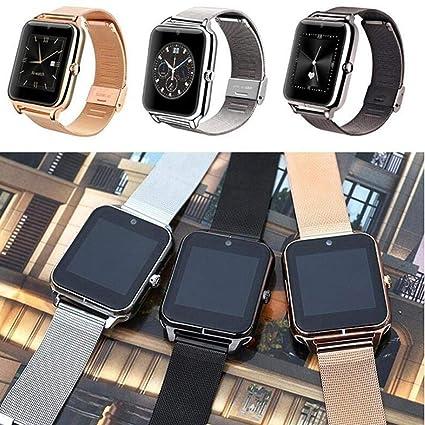 QENCI Smart Watch Phone Podómetro Sedentary Remind Sleep Monitor Remote Camera(Bluetooth Message Music): Amazon.es: Electrónica
