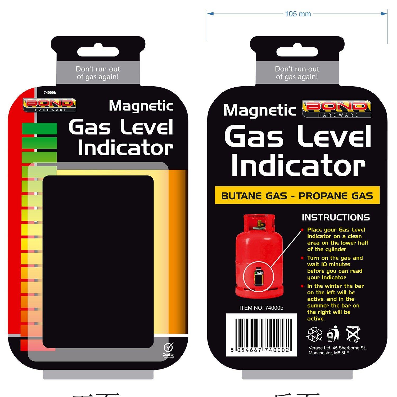 Supremo elección madera magnético Gas botella indicador de nivel ...