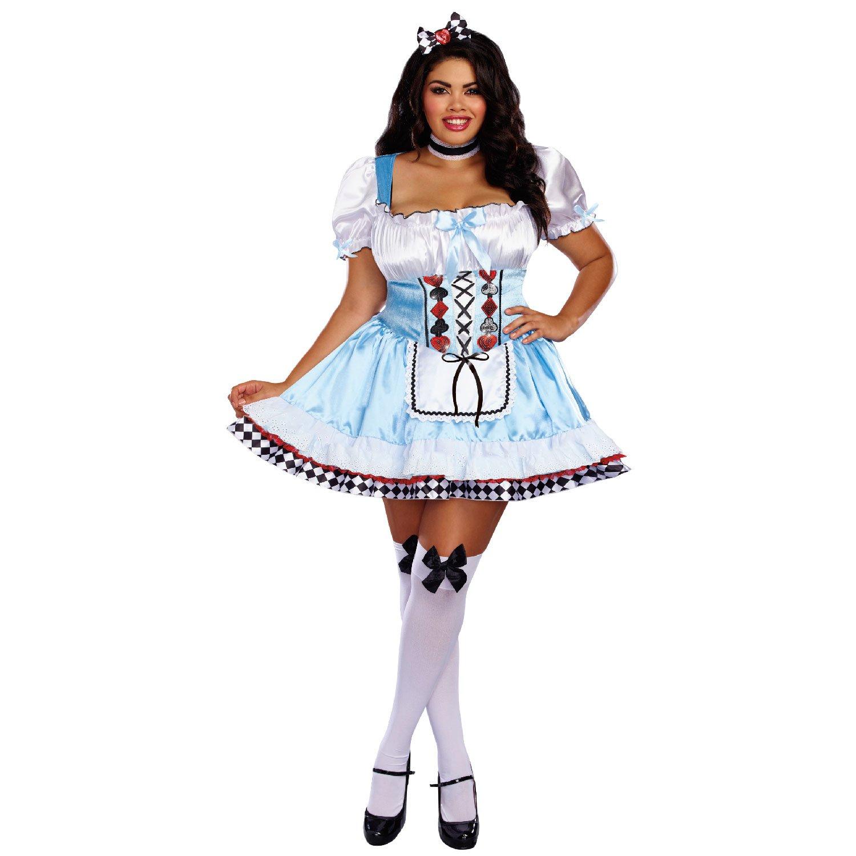 Dreamgirl 10668 X Außerhalb Wonderland Kostüm, 3 x große