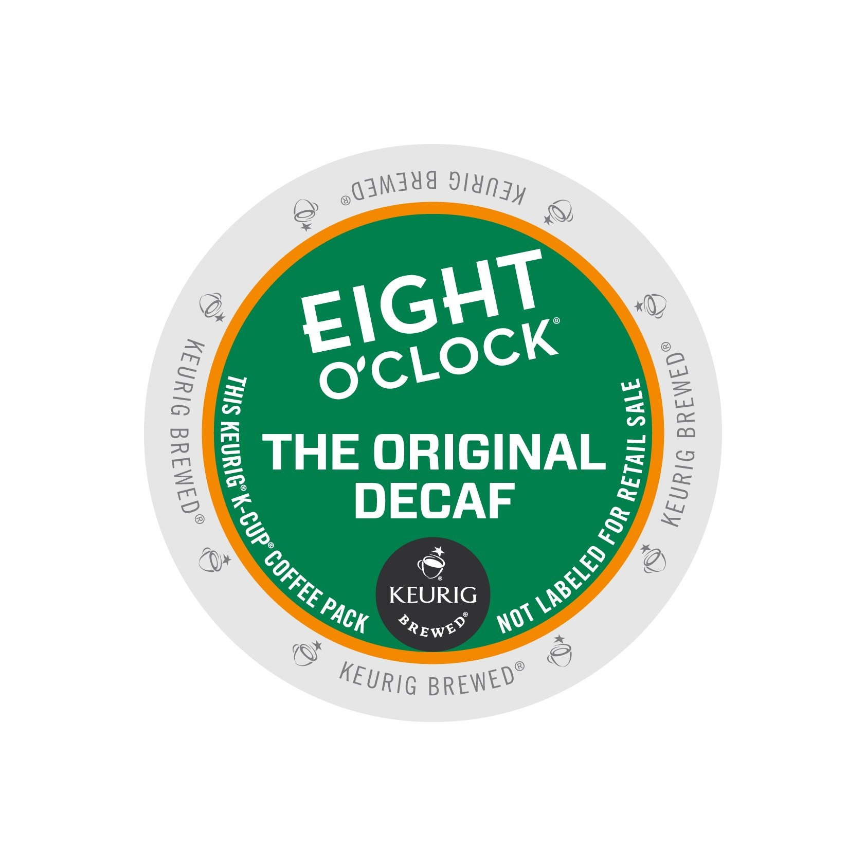 Eight O'Clock Coffee Original Decaf K-cups 96ct by Eight O'Clock