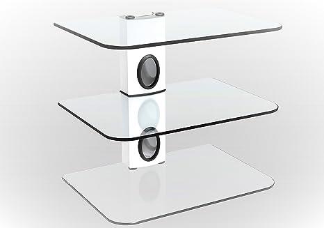 Mensole Da Parete Per Lettore Dvd : Staffa da parete sky box bianco colonna supporto da parete bianco