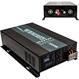 Reliable 3000W Pure Sine Wave Solar Power Inverter Off Grid 12V 120V DC AC Power Converter for Home
