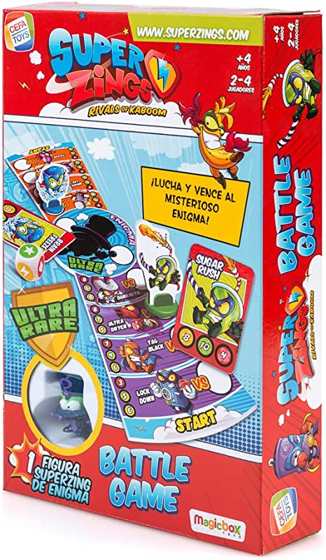 SuperZings- Enigma Juego de Mesa Batt Game Castellano, Multicolor ...
