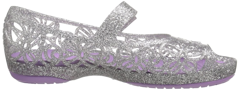 93b2dfc19 Crocs Girls  Isbelagltrfltps Ballet Flats  Amazon.co.uk  Shoes   Bags