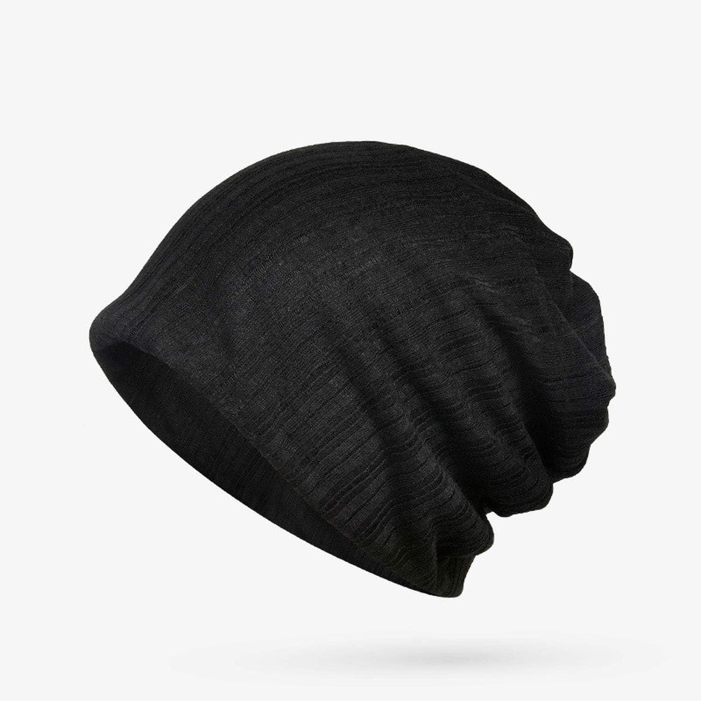 Turban Hat for Women Beanie Bonnet Femme Baggy Beanies for Men Women Spring Summer Fall Hiphop Punk Rock Plain Beanie Hats