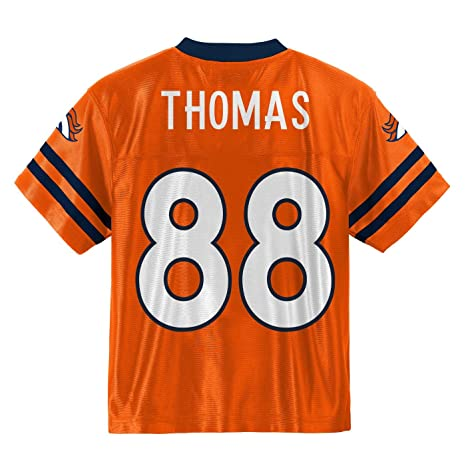 Outerstuff Demaryius Thomas Denver Broncos  88 Orange Youth Home Player  Jersey (Small 8) 9a8df3953