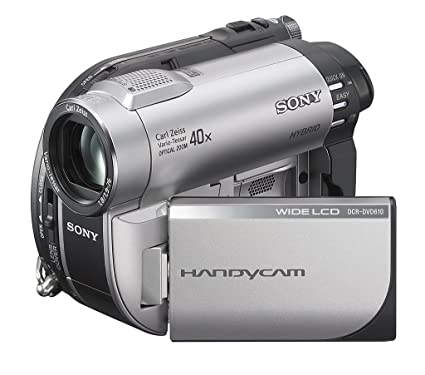 amazon com sony dcr dvd610 dvd handycam camcorder with 40x optical rh amazon com Sony DCR- SR200 Sony Handycam PDF Manuals