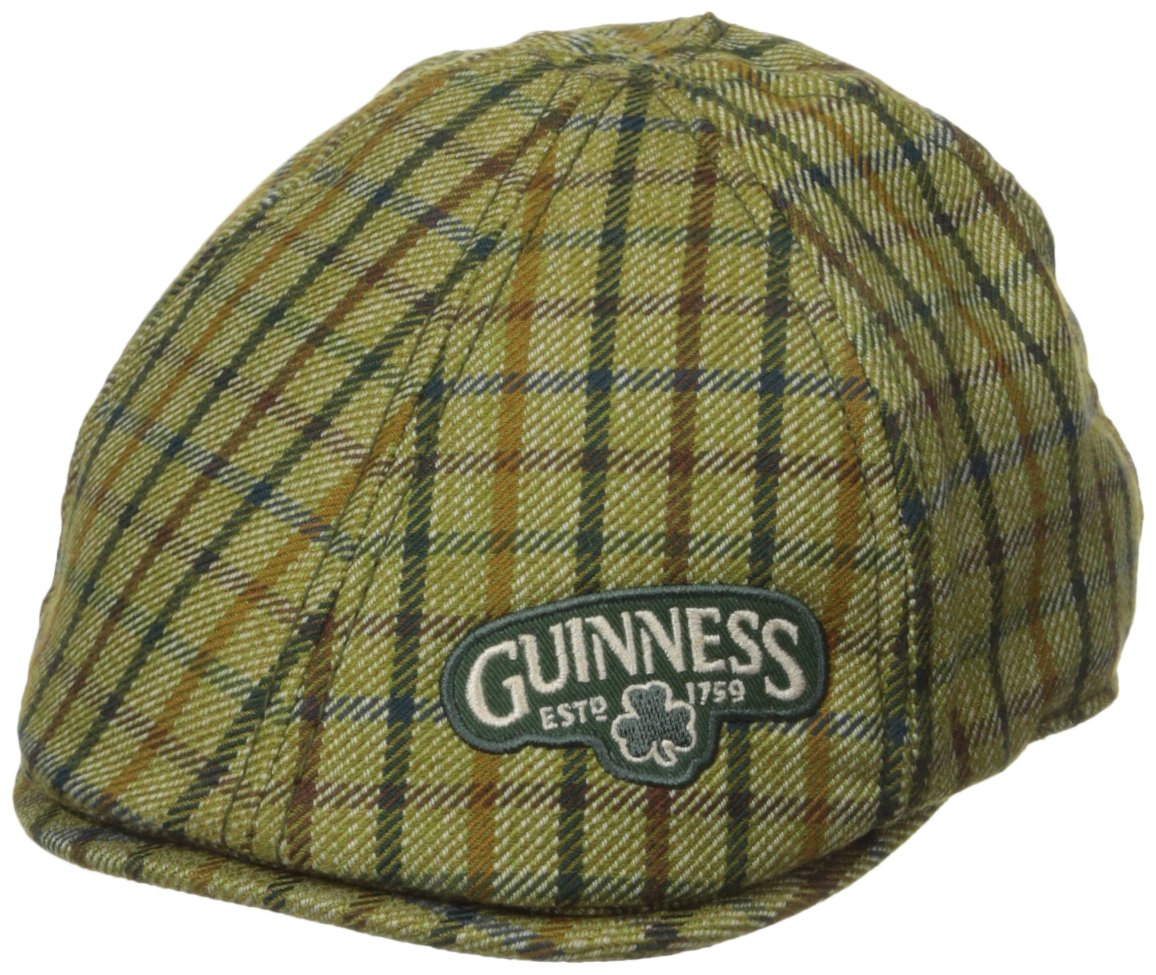 Guinness PGA Green Plaid Ivy Hat, Small/Medium 819307011653