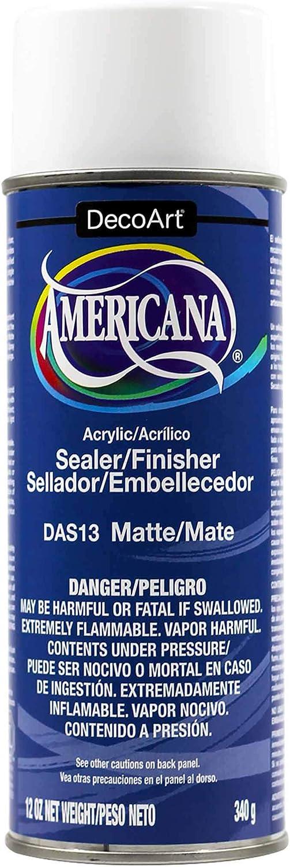 Deco Art 12-Ounce Americana Acrylic Sealer/Finish Aerosol Spray, Matte
