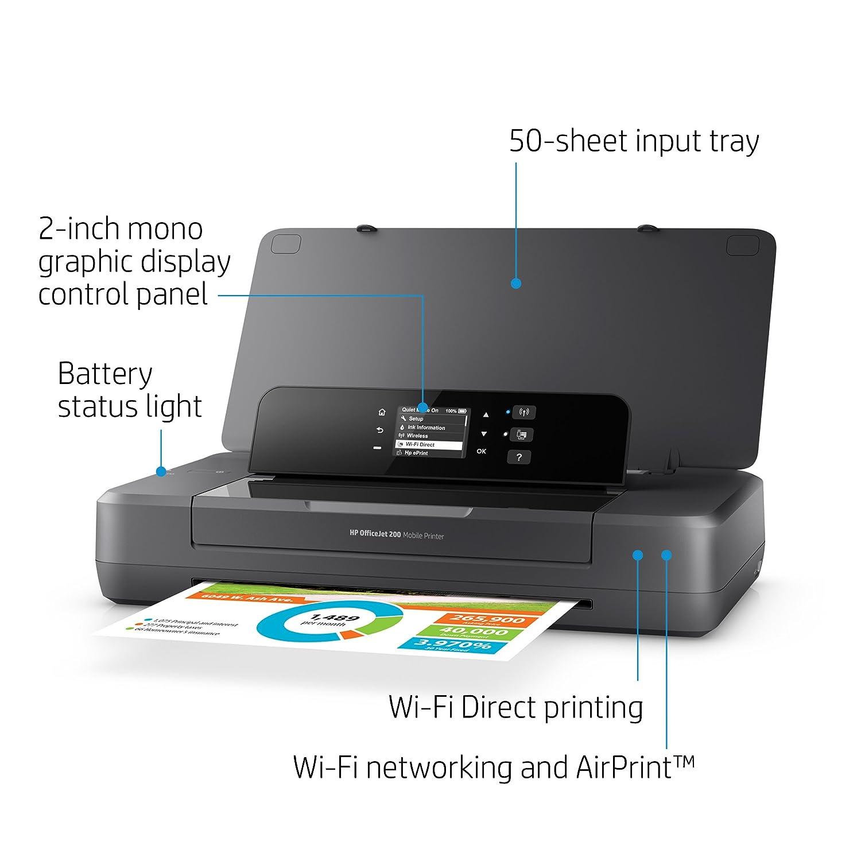 Amazon HP ficeJet Portable Printer with Wireless