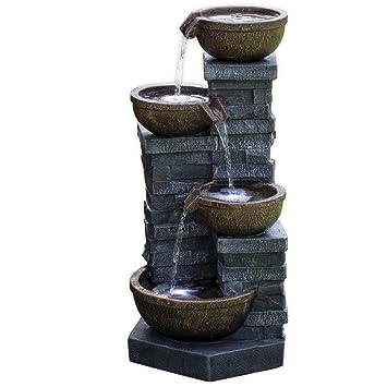 Köhko Springbrunnen Mit Led Beleuchtung Connewitz 13013 Wasserspiel