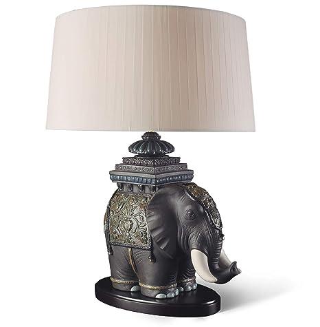 Amazon.com: Lladro siamés elefante lámpara: Home & Kitchen
