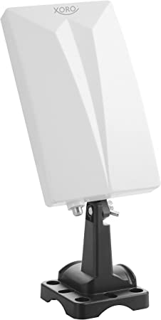 Xoro SAT200216 - Antena (5 dBi, 0.0875 - 0.23 / 0.47 - 0.79 GHz, Tipo F, 3,5 m, 110 mm, 39 mm)