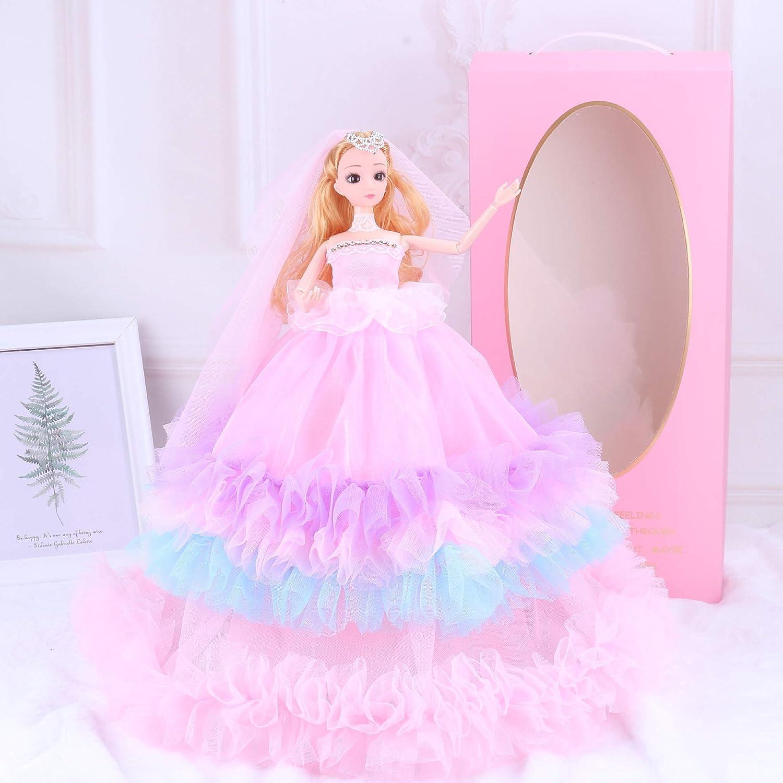 PGYZ - Caja de Regalo para niños de muñecas Barbie de 4 Capas de ...