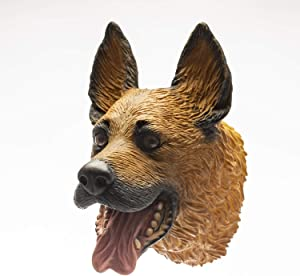 Yolococa Hand Puppet Toys Realistic Latex Animal German Shepherd Children Toys