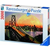 Ravensburger - 17039 - Puzzle Classique - San Francisco de Nuit - 3000 Pièces