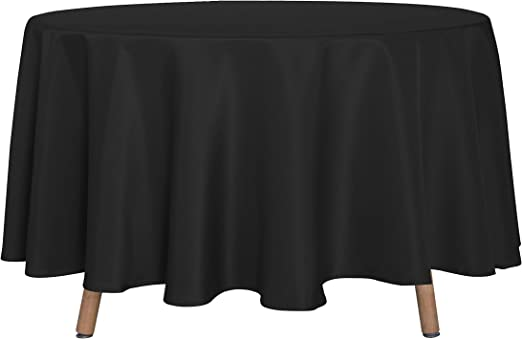 60 Inch Round Tablecloth Floral Print Round Waterproof Wrinkle Free And Stain Resistant Table Cloth Cover Tablecloths