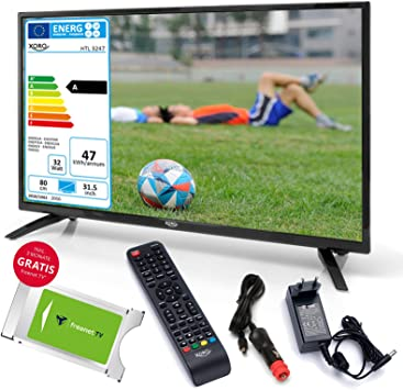 Televisor LED para caravana Xoro HTL 3247 80 cm (31,5 pulgadas) + módulo CI+ (gratis