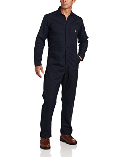 daee22ac2cd Dickies Men's Big-Tall Long Sleeve Blended Basic Coverall