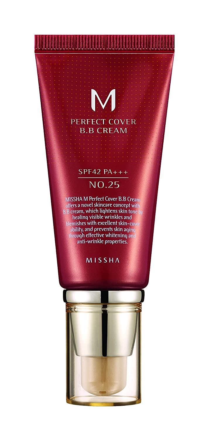 M Perfect Cover BB Cream SPF42/PA+++ (No.25/Warm Beige)