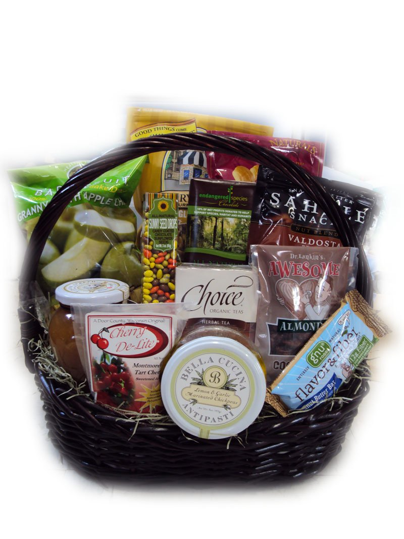 Low-Sodium Heart Health Gift Basket by Well Baskets