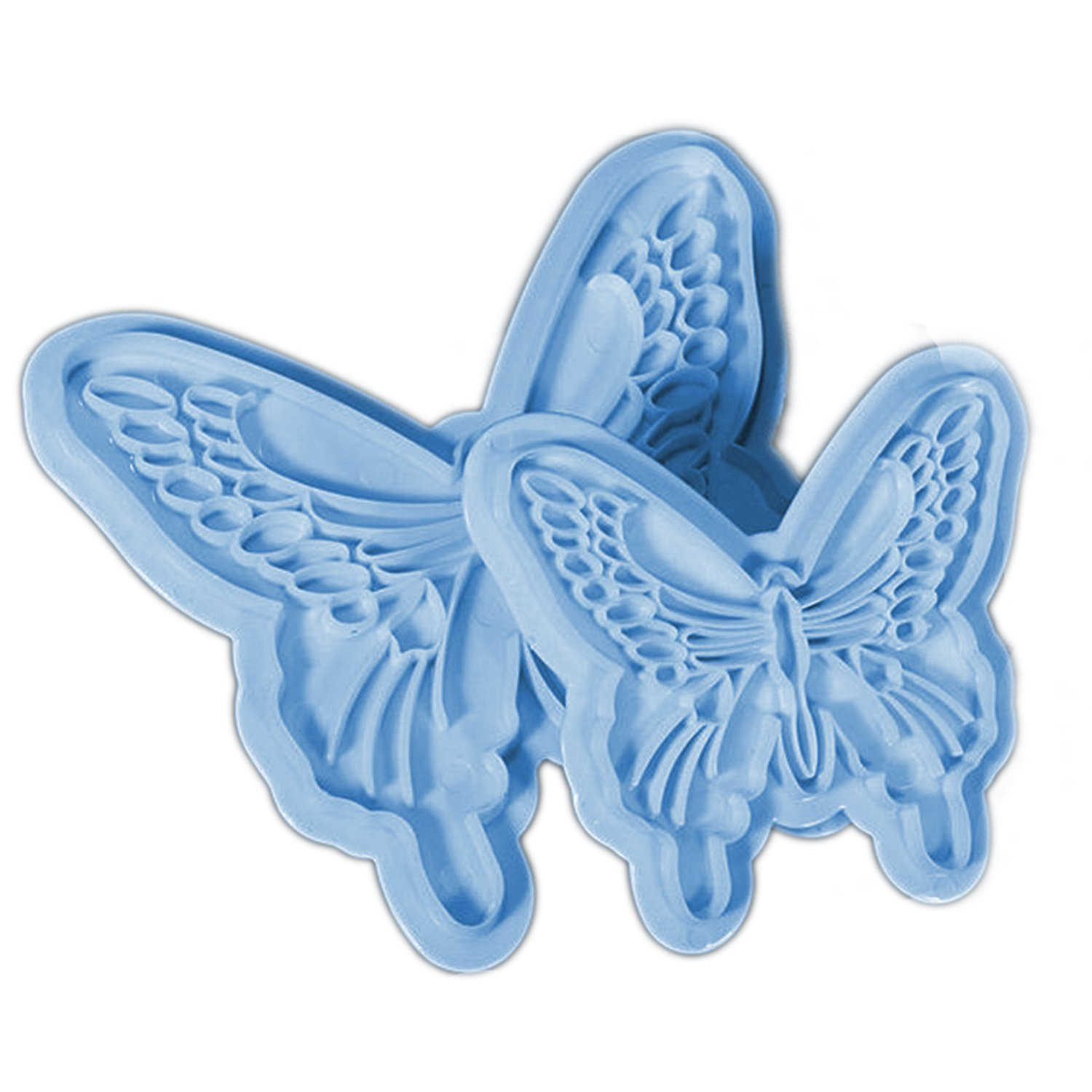 2 PCS Butterfly Shape Sugar Jelly Baking Candy Fondant Craft Mold DIY Cake Decorating Mould Gosear