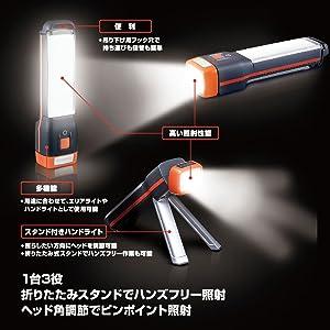 エナジャイザー LEDランタン 3-IN-1タイプ フュージョン FAT241J