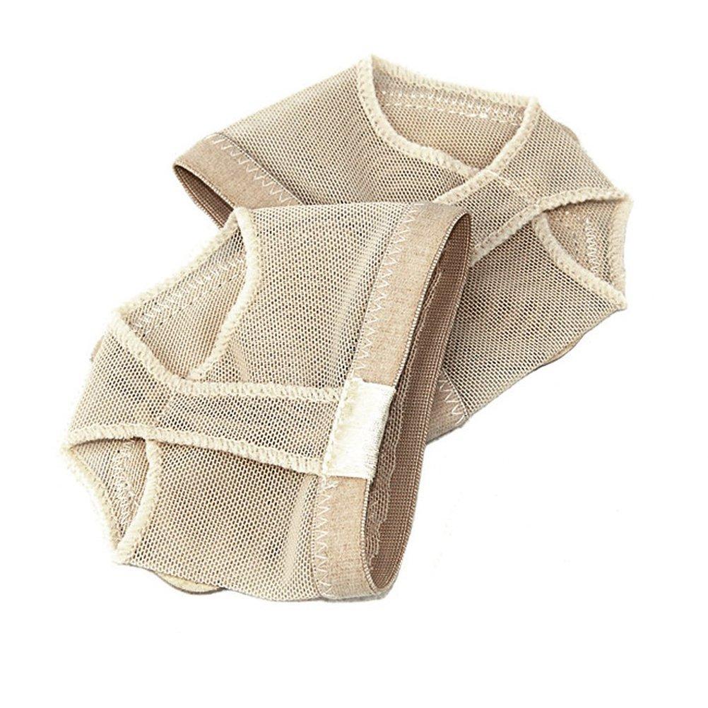 Healifty 3 Paar Ballett-Tanz-Thong Pads Metatarsale Fu/ßballen Vorfu/ß Kissen Gr/ö/ße M Beige