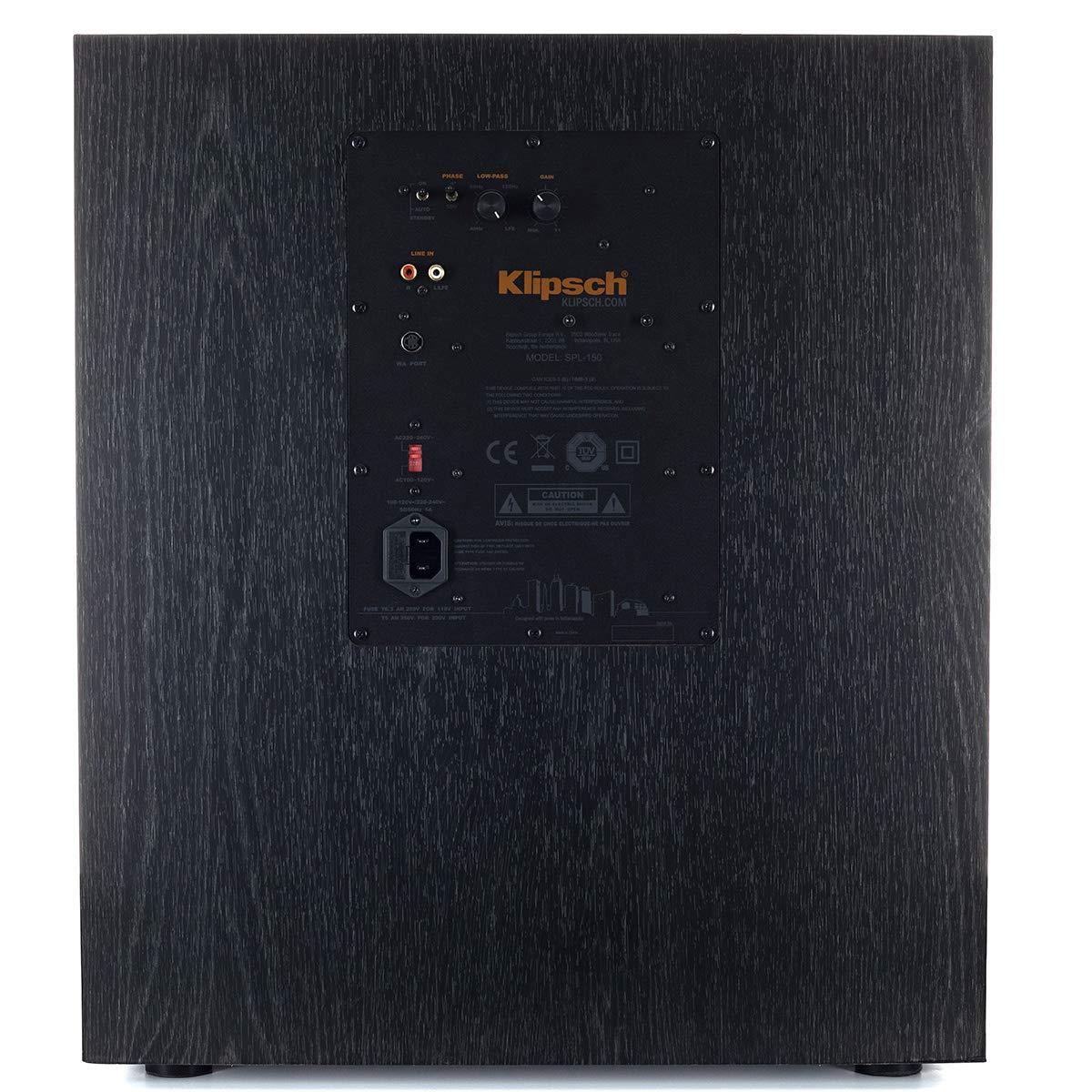 Ebony Klipsch RP-8000F 7.1 Home Theater System