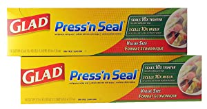 Glad Press 'n Seal Wrap (2-Pack, 140 sq. ft. each (Total 280 sq. ft.))
