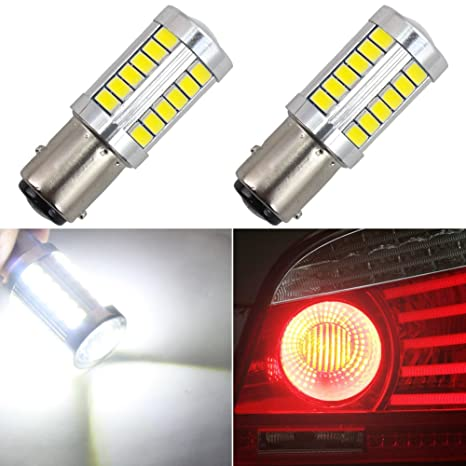 1157 Bombilla LED Luz de freno BAY15D P21 / 5W 1016 1034 1196 7528 2057 2357