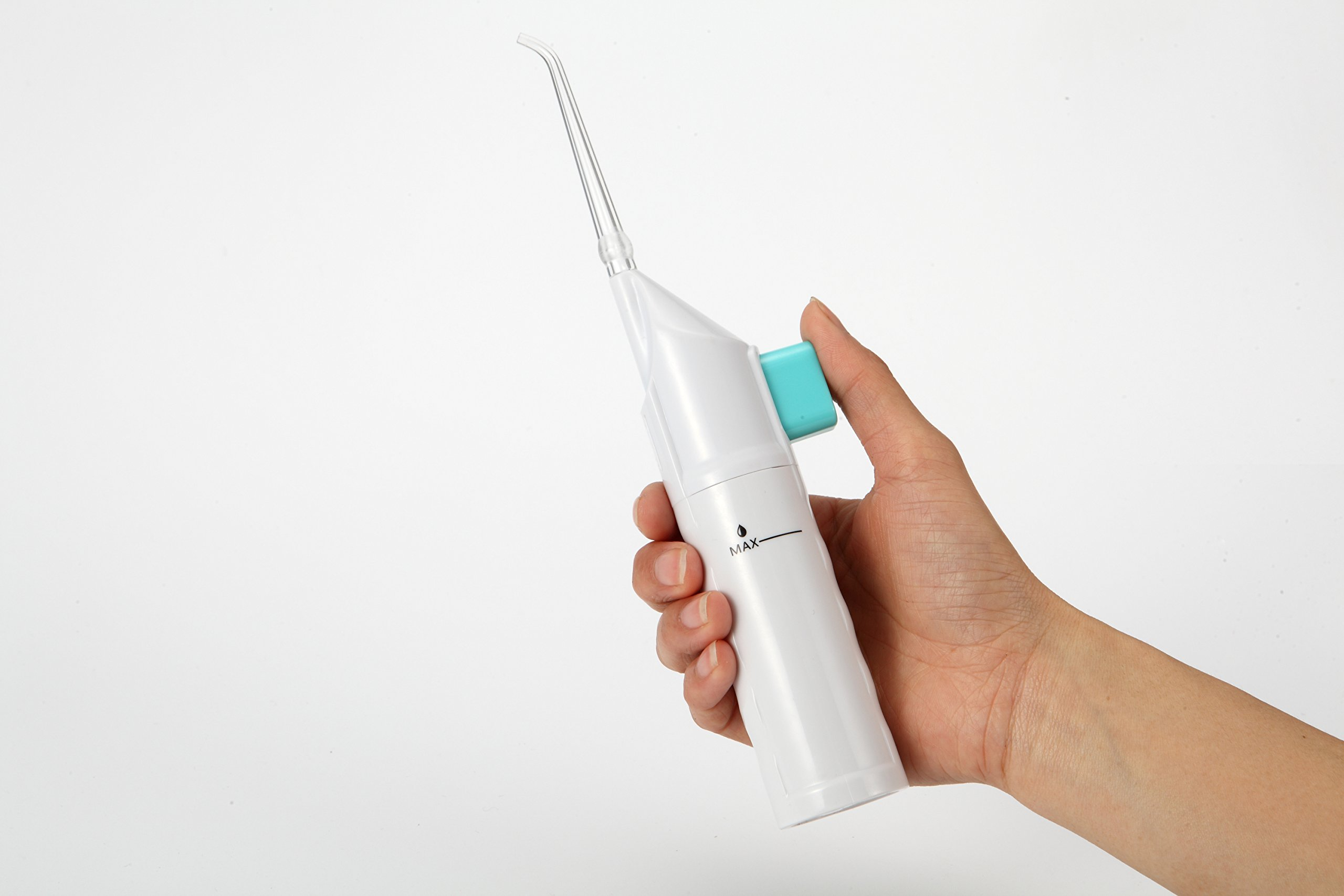 Portable Dental Oral Irrigator for Teeth Cleaning Water Flosser,Travel Water Pick Water Jet Cordless Professional Manual AR-W-11