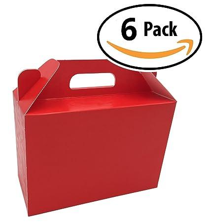 Amazon.com: 6 cajas de regalo bolsas – Diseño Italiano Wrap ...