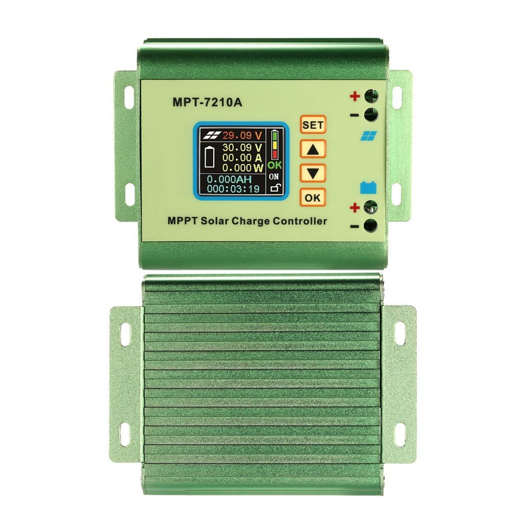 amazon com : mpt-7210a solar controller street home charging system to  adapt to 24/36/48/60 : garden & outdoor