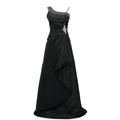 Cherlone Satin Full Length Formal Ballgown Prom Wedding Bridesmaid Evening Dress
